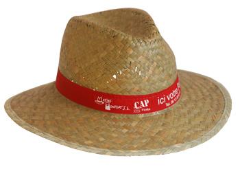 Photo du chapeau Indiana paille verte